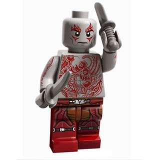 Lego Marvel Super Heroes - Drax Guardians of The Galaxy 76021 Minifigure new
