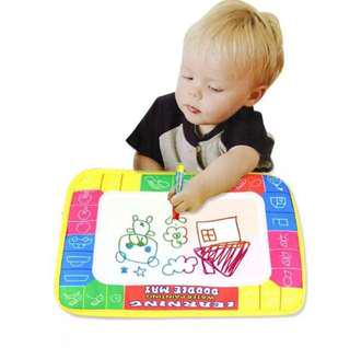BN Baby Kids Drawing Painting Writing Mat Board & Magic Pen Doodle Toy