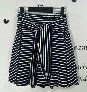 Striped Skirt (garterized)