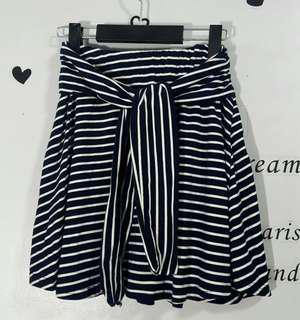Striped Skirt (garterized)