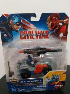 Marvel Captain America Civil war with Blast-Action 4×4