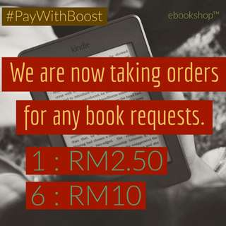 [EBOOKS] Request your books here!