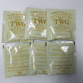 1837 TWG Chamomile 10 Tea Bags Loose NEW #UNDER90