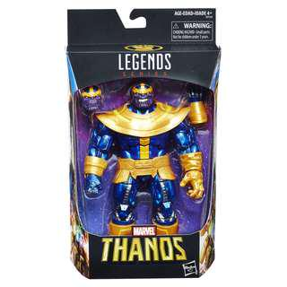 "MISB Marvel Legends 6"" Thanos Walmart Exclusive"