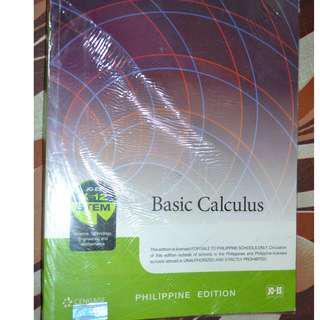 BASIC CALCULUS Cengage Grade 11 & 12 STEM Books