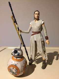 "Star Wars 6"" Black Series Rey & BB-8"