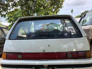 Bonet Belakang Daihatsu Charade Kissa/Aura Spoiler GTTI