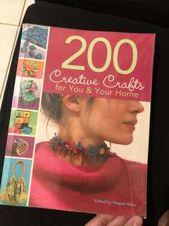 200 Creative Crafts for you & your home