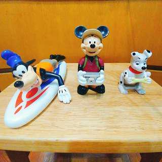 絕版 Disney 高飛 米奇 斑點狗 麥當勞 公仔 Figure