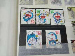 多啦a夢 蓋銷 日本郵票