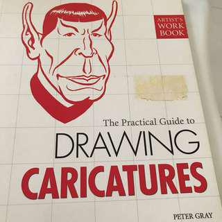 🚚 The Practical Guide to Drawing Caricatures Peter Gray Artist Work Book Art Design Illustration