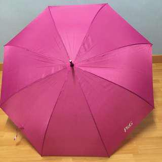 New P&G Pink Umbrella - Large, Shelters 2 persons
