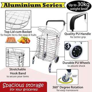 Foldable Aluminium Grocery Trolley