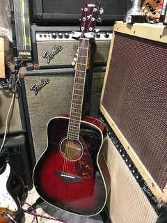 Yamaha FG720S guitar