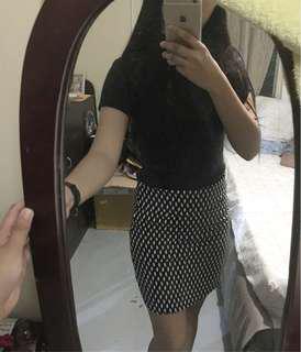 Pencil skirt/ plaidskirt