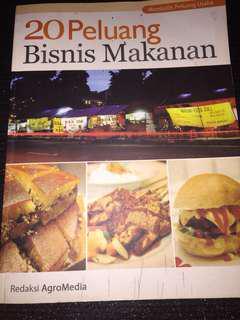"""Buku """"20 Peluang Bisnis Makanan"""" by AgroMedia"""