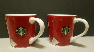 🚚 星巴克 Starbucks 耶誕限定 88ml 3oz 馬克杯 shot
