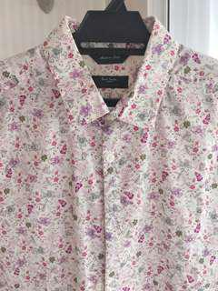 Paul Smith Floral print cotton shirt