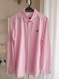 Men Pink Shirt