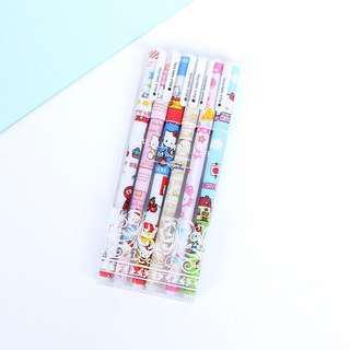 0.38 Color Gel Pen Pack of 6pcs