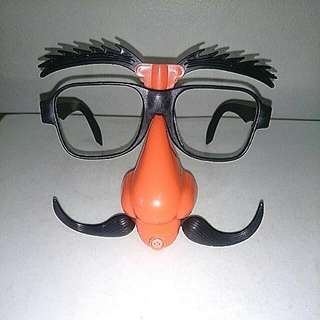 New Party Mask With Whistle