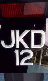 Plat Number