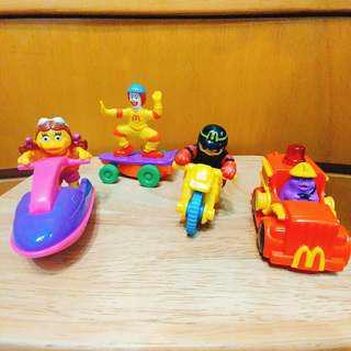絕版 麥當勞 Mc Donald 經典人物 車仔