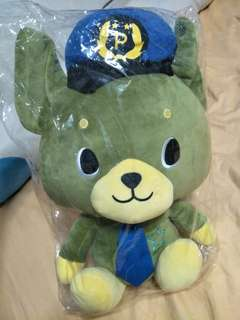 🚚 Toys world green police dog approx 30cm
