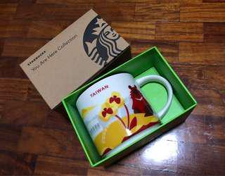 BNEW ORIG Starbucks Taiwan You Are Here YAH Mug