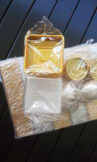 Mooncake plastic tray and cover - packaging