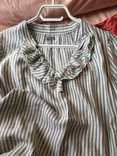 Aerie Pin Stripe Shirt