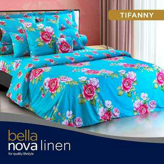 Promo Sprei Queen Nova Linen Bella uk 160x200cm