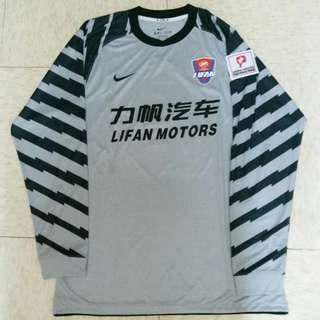 Nike 重慶力帆足球隊2011中甲Player龍門衫 CSL 非中超 Lifan China