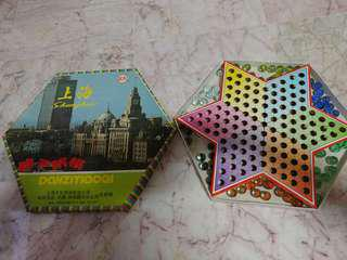 Halma board game chinese checkers