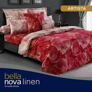 Promo Sprei King Nova Linen Bella Uk 180x200cm