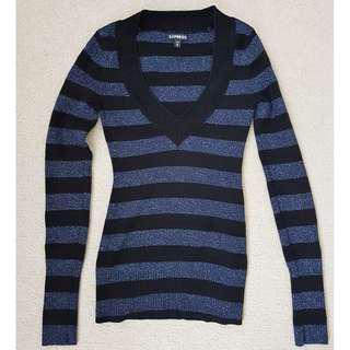 Express lurex sweater