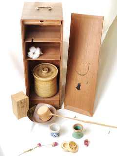 🚚 日本茶道具組