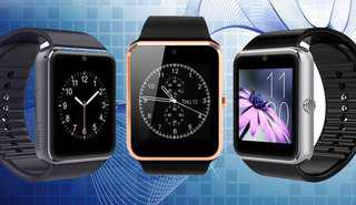 Elegant Metal Body And Construction! A Bluetooth Smart Watch For All Ages!