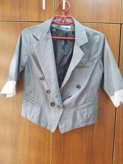 Seventeen Cotton Blazer