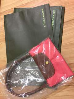 Longchamp gift envelope