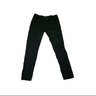 Tribal Low Waisted Black Pants