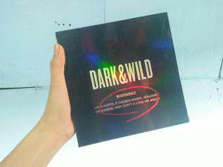 BTS Dark & Wild Album (Sealed)