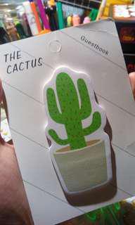 Cactus sticky note 🌵