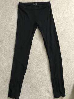 Black Talula Pant Leggings Size 6