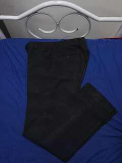 Modern Basic Black Slacks (Small)