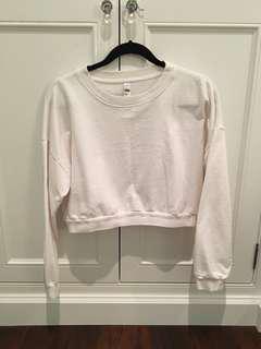 American Apparel Crop Sweater