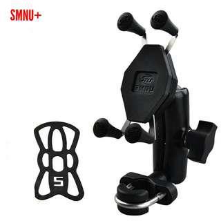 SMNU+ motorcycle phone holder x grip