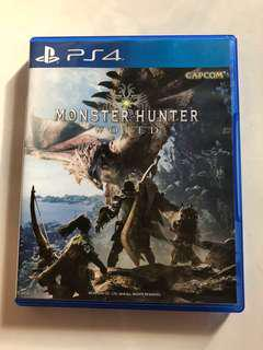 PS4 Monster Hunter World / R3