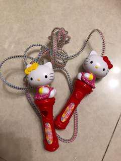 Hello kitty rope