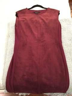 BCBG Suede Dress